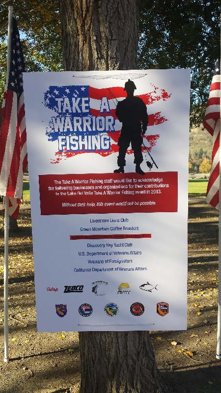 Take a warrior fishing veterans of foreign wars post for Take a vet fishing