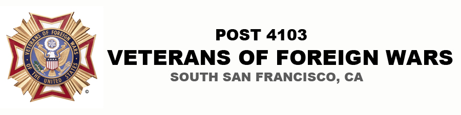 Veterans of Foreign Wars Post 4103 | South San Francisco